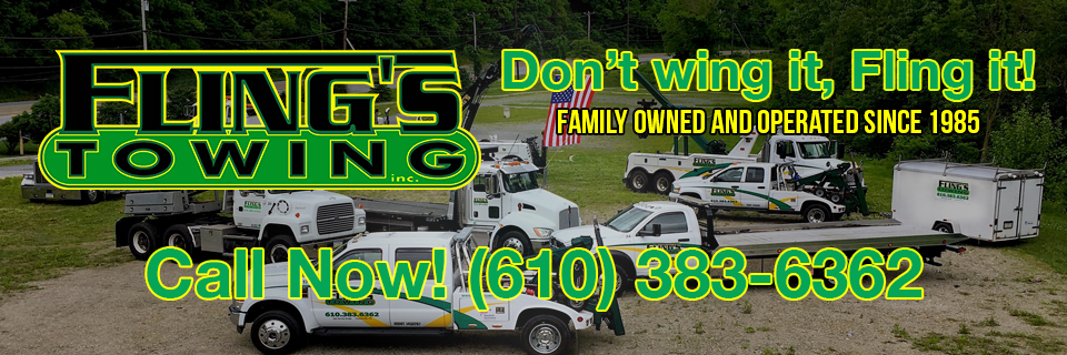 Fling's Towing - Serving the Coatesville, PA Area